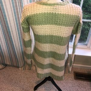 Rue21 Sweaters - Green & Cream Sweater